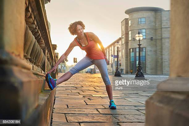 stretching out - liverpool training stock pictures, royalty-free photos & images