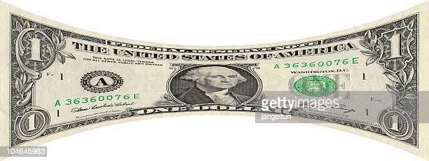 stretching the dollar - dollar sign stock pictures, royalty-free photos & images