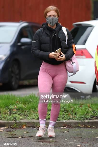 Strictly Come Dancing 2020 Maisie Smith seen at a rehearsal studio on November 16, 2020 in London, England.