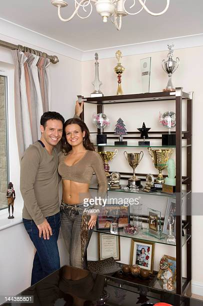 Strictly come dancing couple Darren Bennett and Lilia Kopylova pose at home The married couple are the main professional talent in the BBC's massive...