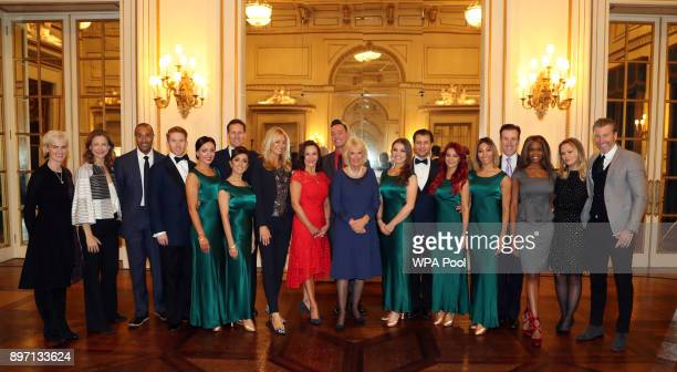 'Strictly Come Dancing professional dancers judges and former contestants Judy Murray Katie Derham Colin Jackson Neil Jones Amy Dowden Brendan Cole...