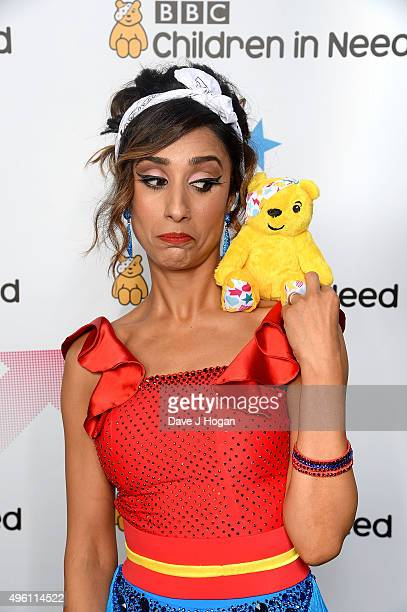 Strictly Come Dancing star Anita Rani supports BBC Children in Need ahead of the BBC One Appeal show on Friday 13th November at Elstree Studios on...