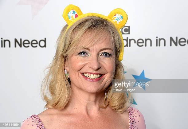 Strictly Come Dancing star Carol Kirkwood supports BBC Children in Need ahead of the BBC One Appeal show on Friday 13th November at Elstree Studios...