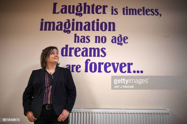 Strictly Come Dancing Star Susan Calman joined line dancers at The Senior Centre Castlemilk project on March 14 2018 in Glasgow Scotland The comedian...