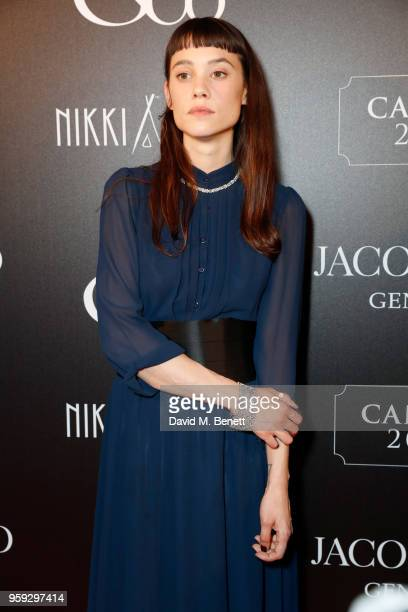 Ëstrid BergsFrisbey attends the Jacob Co Cannes 2018 party at Nikki Beach on May 16 2018 in Cannes France
