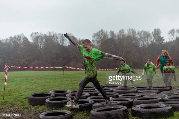 striding ahead - endurance race stock pictures, royalty-free photos & images