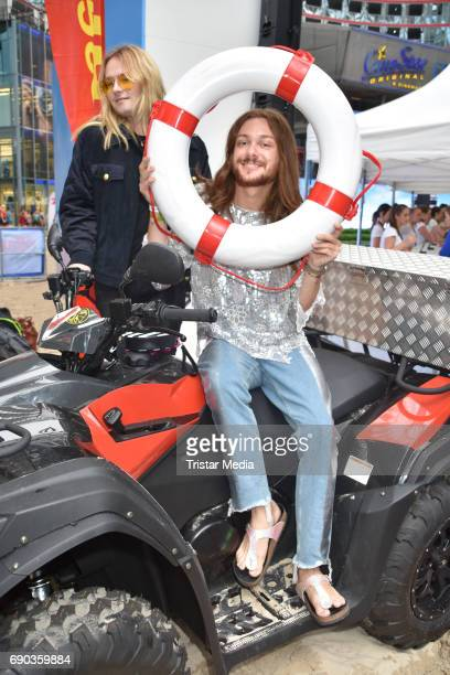 Strify and Riccardo Simonetti during the Baywatch European Premiere Party on May 31 2017 in Berlin Germany