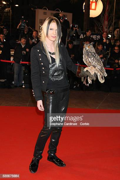 Strify of Cinema Bizzarre arrives at the 2008 NRJ Music Awards in Cannes