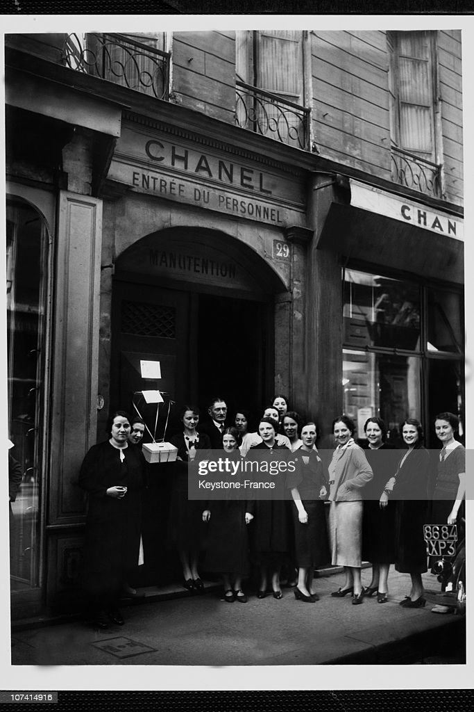 455ea61cd3e0 Strike In Chanel Fashion House In Paris On 1938 News Photo - Getty ...