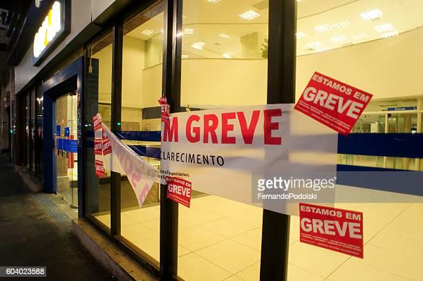 Strike of Bank in Brazil