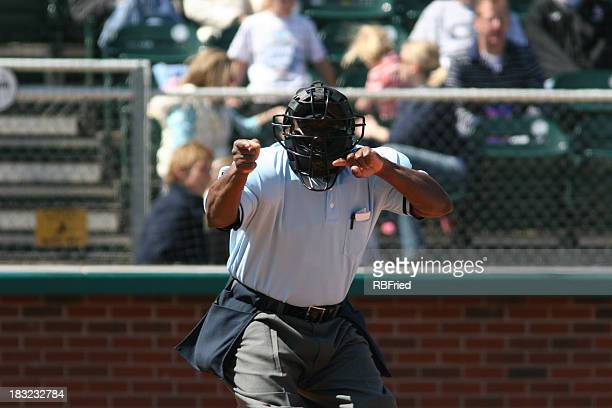 strike three - referee stock pictures, royalty-free photos & images