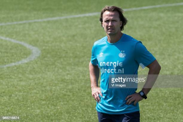 striker trainert Boudewijn Zenden of PSV during a trainings session of PSV Eindhoven at the Herdgang on June 27 2018 in Eindhoven The Netherlands
