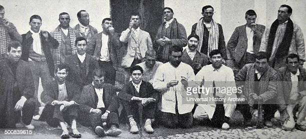 Strikers detained for trial Spain 1911