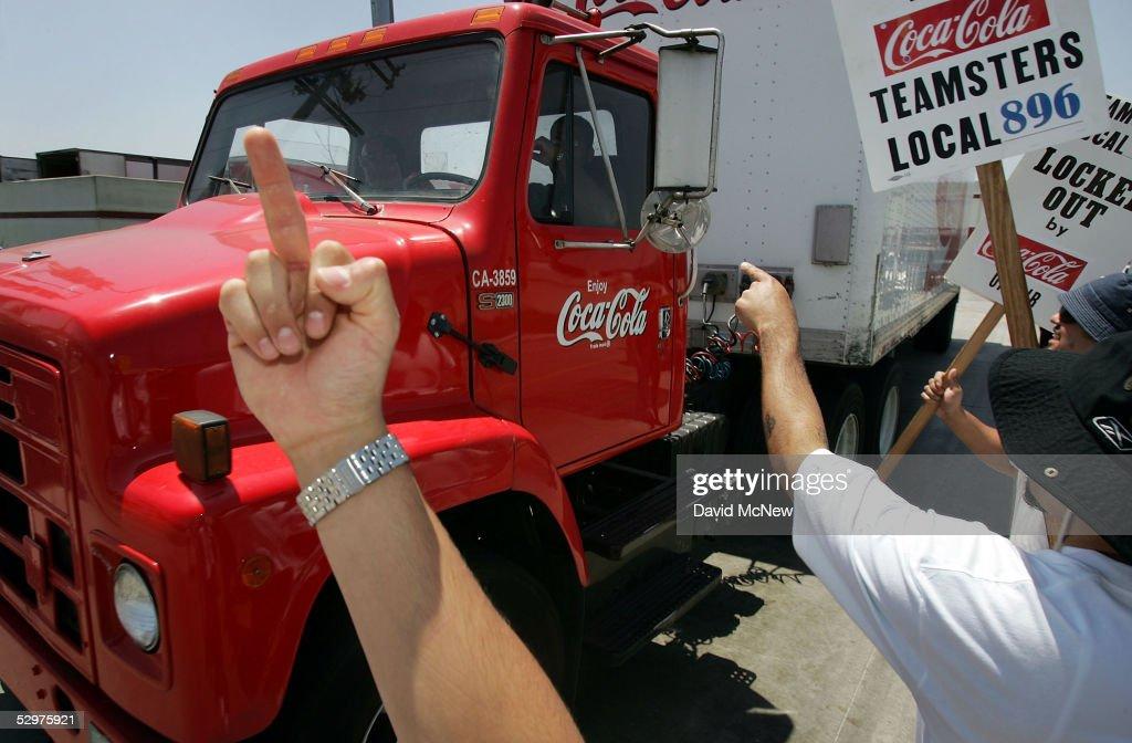 coca cola truck driver