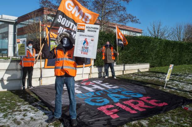 GBR: British Gas Workers Strike
