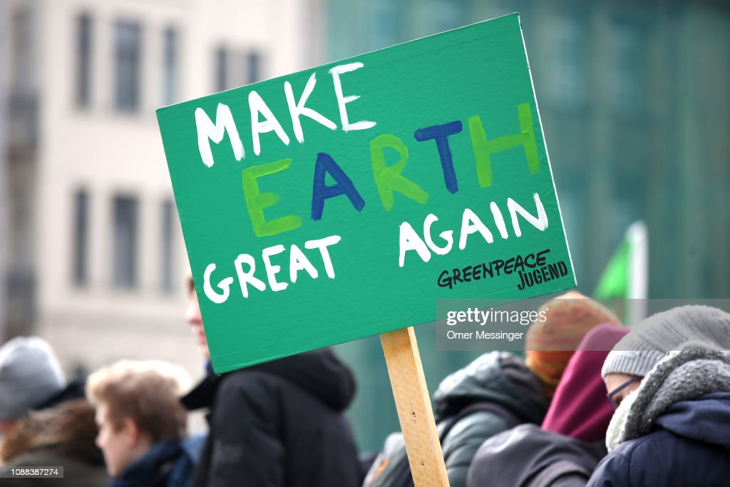 Pupils Strike For Climate Change : News Photo
