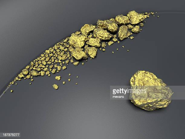 striking it rich - gold rush stock photos and pictures