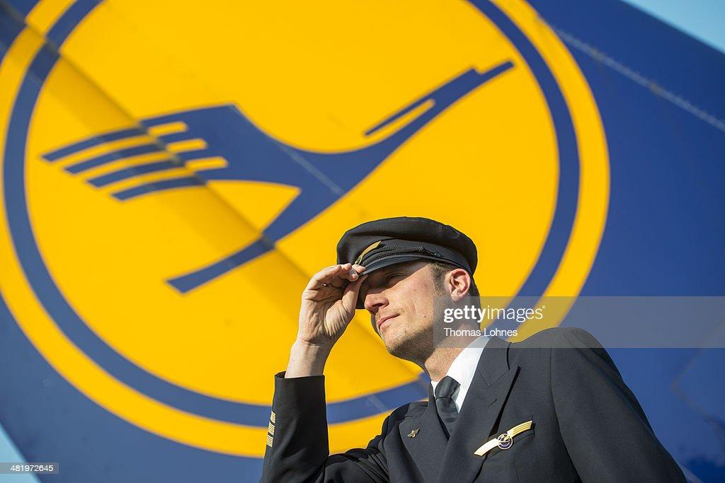 Lufthansa Pilots Launch Three-Day Strike : News Photo