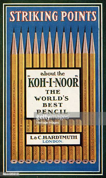 Striking Points about the 'KohINoor' The Worlds Best Pencil L C Hardtmuth London 1908
