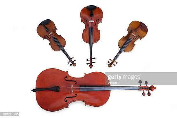 string quartet - string quartet stock photos and pictures