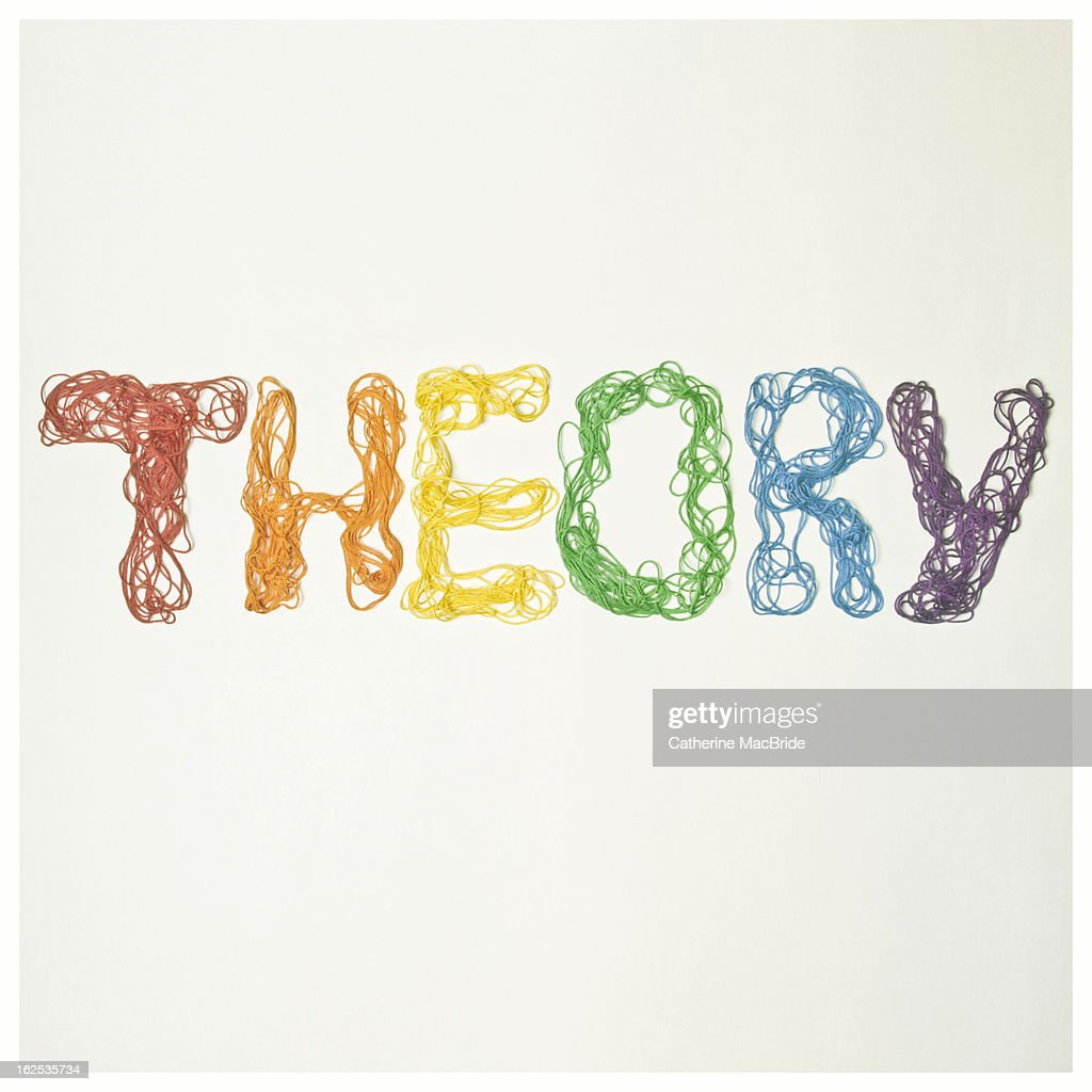 String Theory : Foto stock
