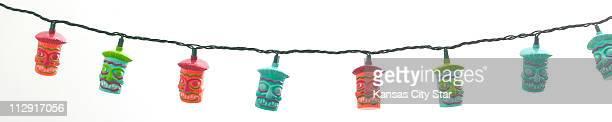 String these fun tiki lanterns on your patio for the perfect tiki party