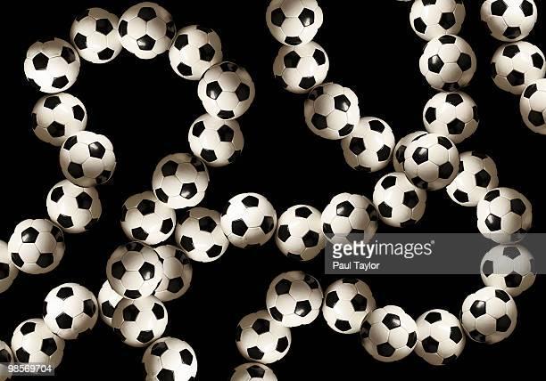 Strings of Soccer Balls