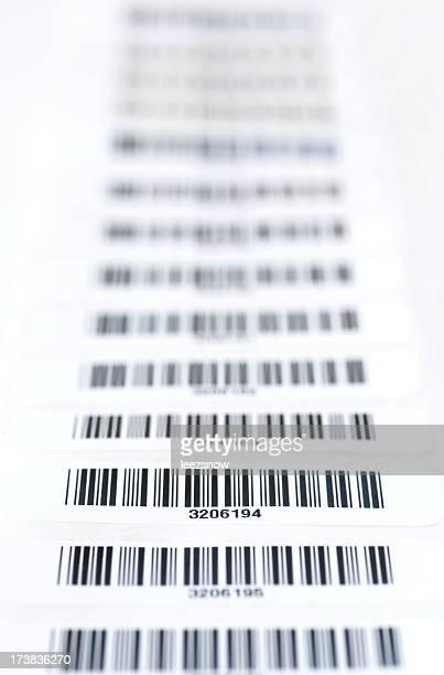 Strip der Bar-Codes