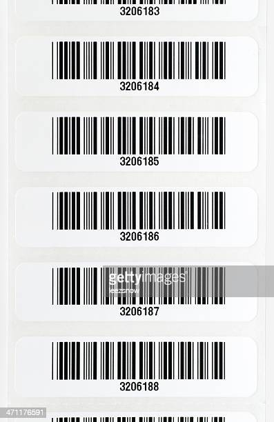 Strip der Bar-Codes