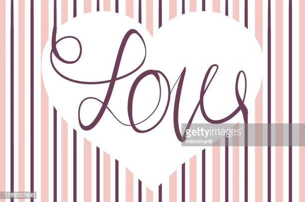 stripe background with  heart and love - design stock pictures, royalty-free photos & images