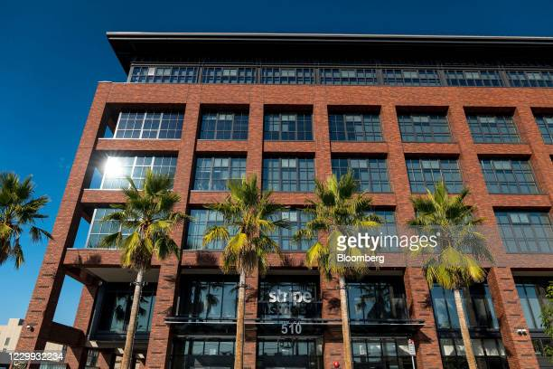 Stripe Inc. Headquarters in San Francisco, California, U.S., on Thursday, Dec. 3, 2020. Stripe will team up with some of the world's largest banks to...