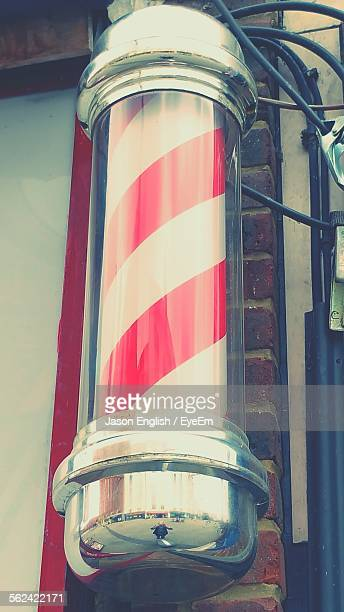 Striped Barber Pole, Close-Up