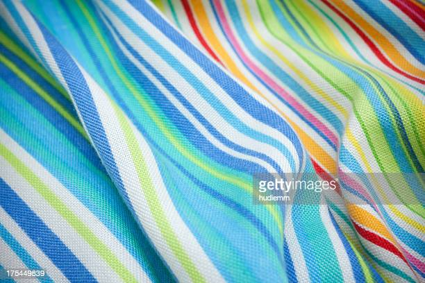 Striped knit fabric background textured
