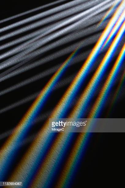 striped light beams emitting - refraction stock pictures, royalty-free photos & images