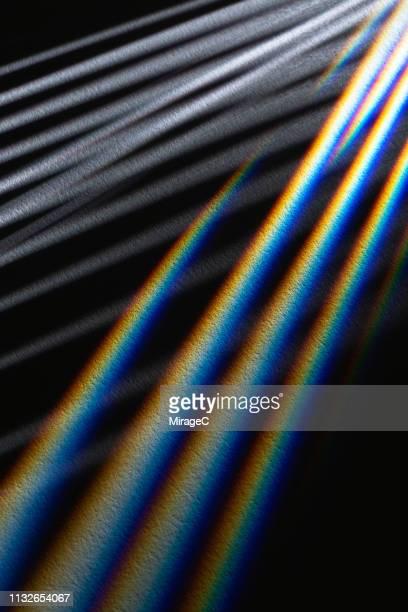 striped light beams emitting - 縦位置 ストックフォトと画像