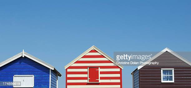 stripes. - suffolk england stock photos and pictures
