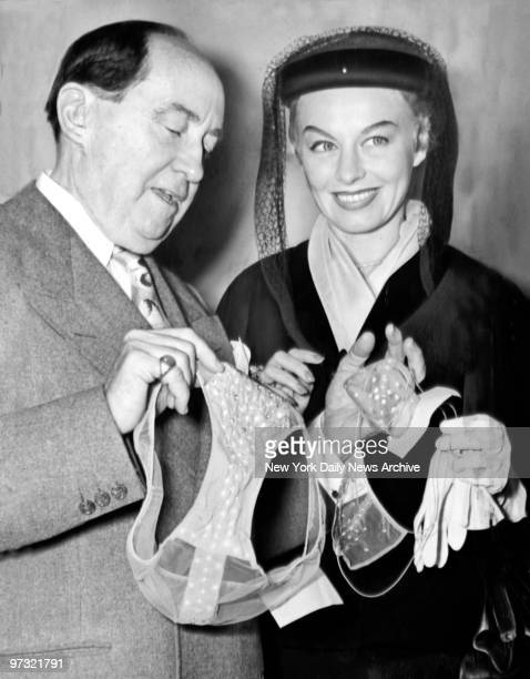 Striptease dancer Lili St Cyr and attorney Jerry Giesler