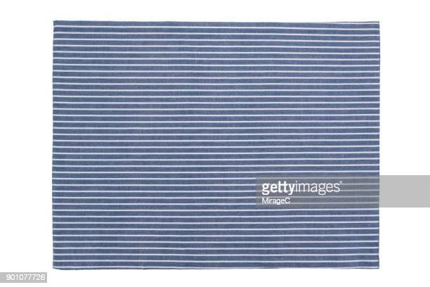 Stripy Placemat on White