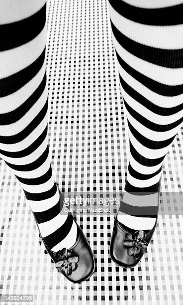 stripy socks - catherine macbride stockfoto's en -beelden