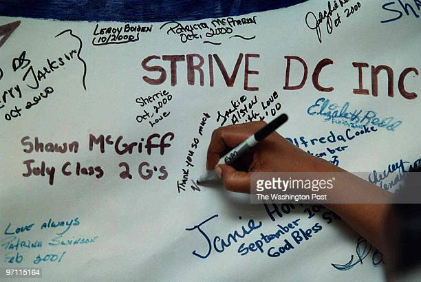 """""""Strive"""", a successful 3 week intensive program in DC to help people overcome past struggles and issues and gain employment. **Graduates sign the..."""
