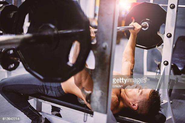 strive for progress, not perfection - circuit training stock photos and pictures