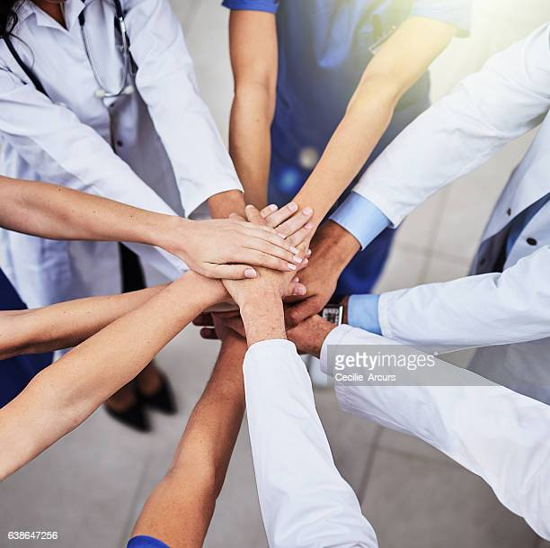 striving to provide superior healthcare - labor union stock photos and pictures
