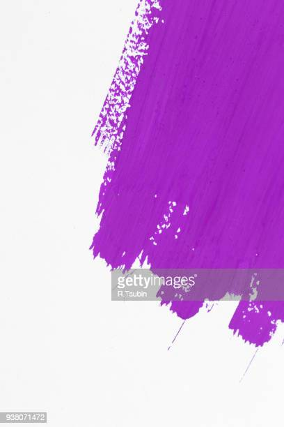 stroke purple paint