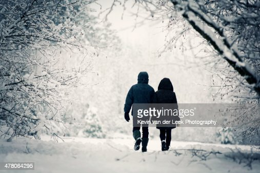 A Stroll in the Snow