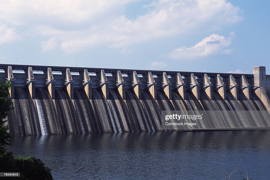 J. Strom Thurmond Hydro Dam , South Carolina : Stockfoto