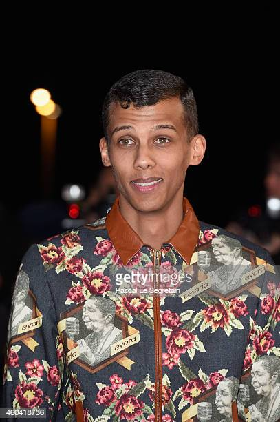 Stromae attends the NRJ Music Awards at Palais des Festivals on December 13 2014 in Cannes France