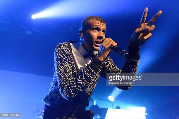 Stromae performs at Riviera Theatre on September 21 2015 in Chicago Illinois