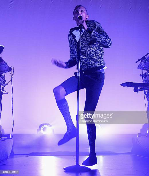 Stromae performs in concert at Best Buy Theater on June 20 2014 in New York City
