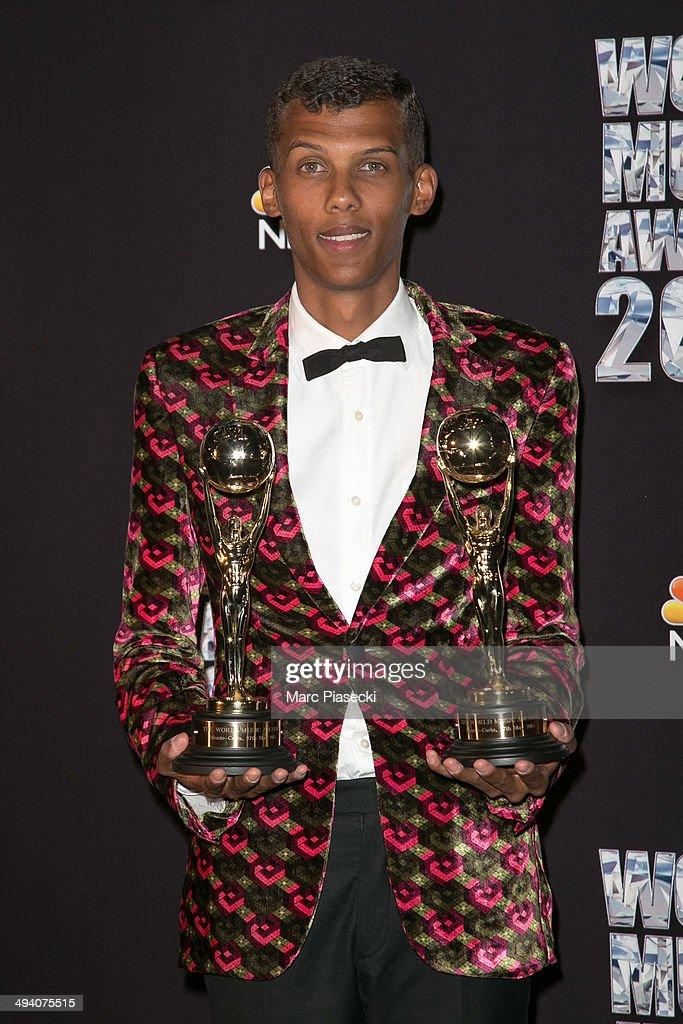 World Music Awards 2014 - Press Room In Monte-Carlo