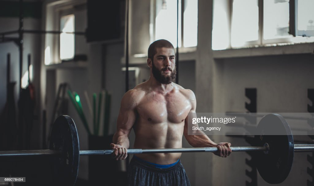 Strong and ready : Stock Photo